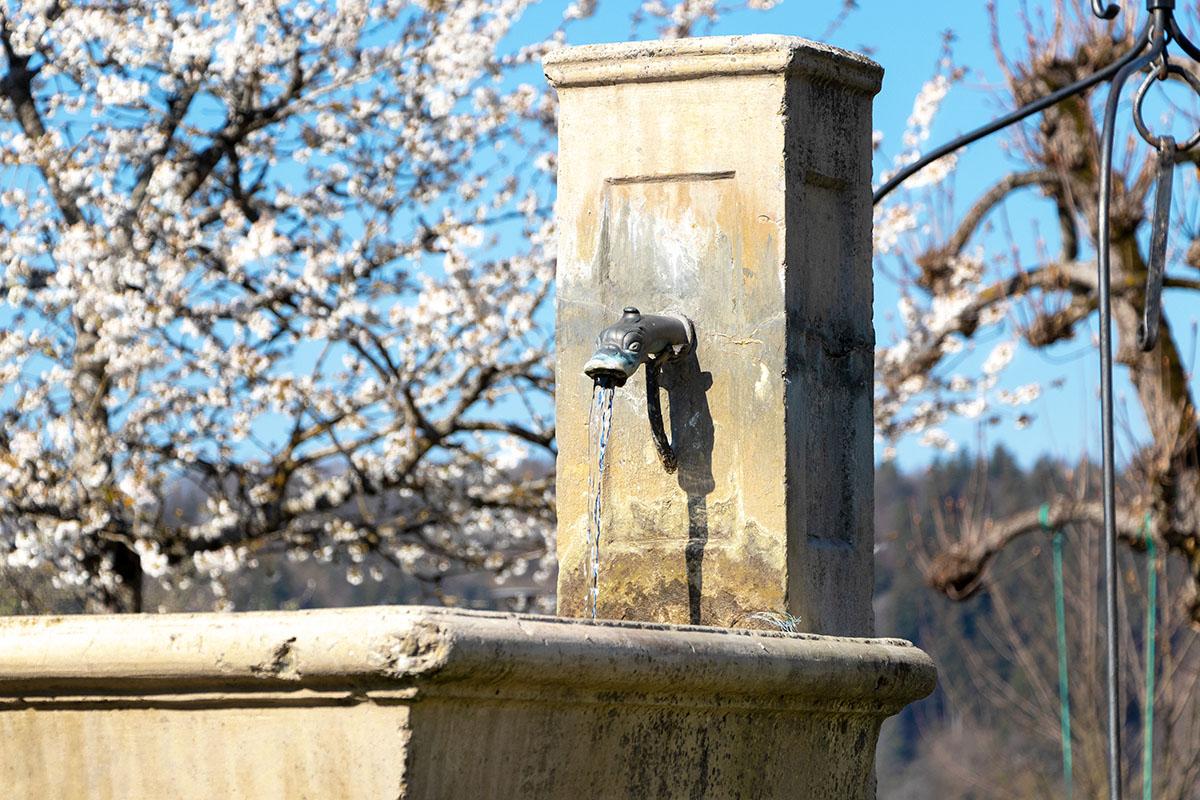 Fontaine à Chapeiry