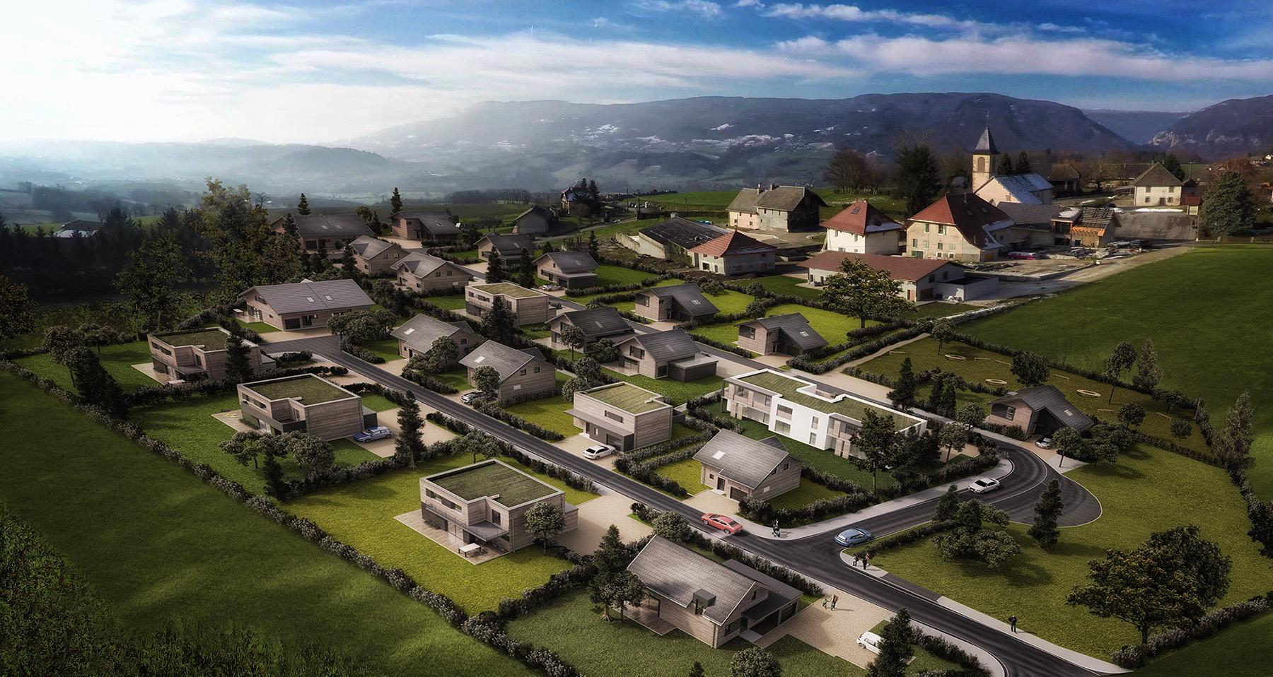 Nature et Sens, construction villa